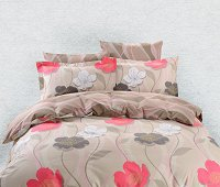 Duvet Cover Sheets Set, Dolce Mela Sparti Queen Size Bedding