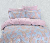 Duvet Cover Sheets Set, Dolce Mela Santorini Queen Size Bedding