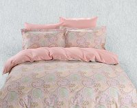Duvet Cover Sheets Set, Dolce Mela Corfu Queen Size Bedding