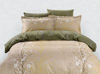 Duvet Cover Sheets Set, Dolce Mela Rodos Queen Size Bedding