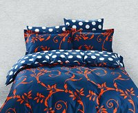 Duvet Cover Sheets Set, Dolce Mela Crete Queen Size Bedding