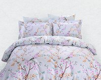 Duvet Cover Sheets Set, Dolce Mela Sifnos Queen Size Bedding