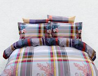 Duvet Cover Sheets Set, Dolce Mela Hydra Queen Size Bedding
