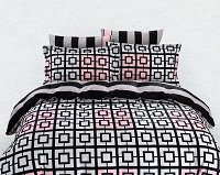 Duvet Cover Sheets Set, Dolce Mela Majorca Queen Size Bedding