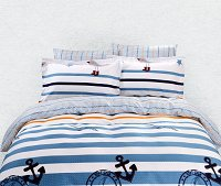 Duvet Cover Sheets Set, Dolce Mela Hatteras Queen Size Bedding