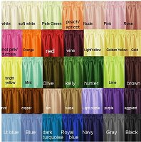 Solid Colored Broadcloth Fabric (in many colors, by the yard)