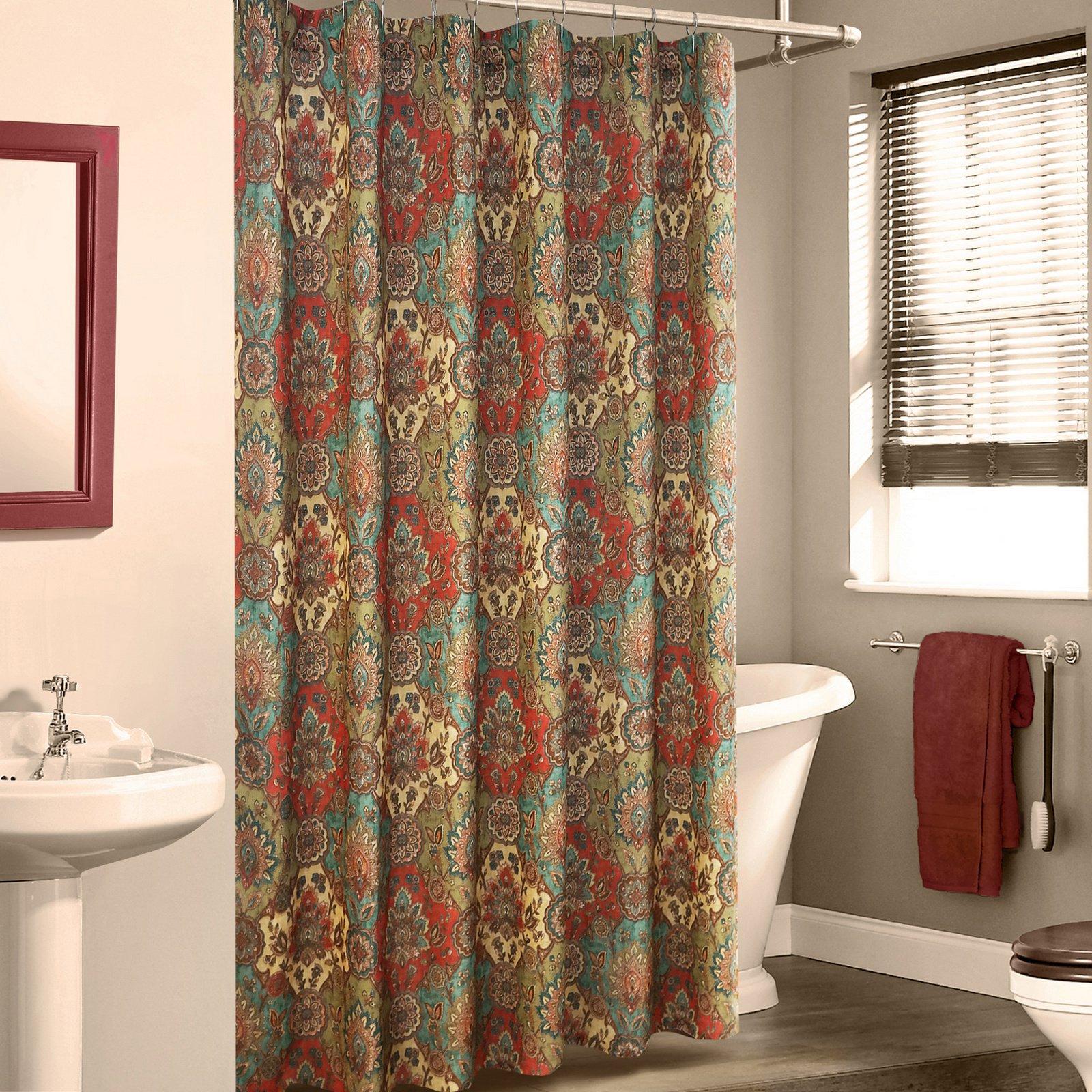 Multi Color Shower Curtain Aladin