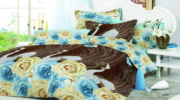 Duvet Cover with Highly Detailed Prints by Arya