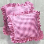 Gingham Throw Pillows (accent pillows)