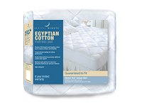Restful Nights&reg;<br />Egyptian Cotton Pad<br /><small>Premium 300 thread count mattress pad (King)</small>