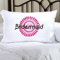Bouncy Bouquet 8, Personalized Pillowcase (personalized one line with name or phrase with upto 12 characters)