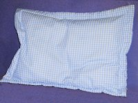 Gingham Pillow Shams (Fits Crib, Standard, Queen and King Size Pillows and Matches all Gingham Colors)