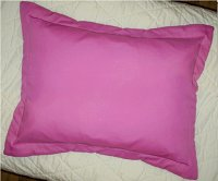 Solid Pillow Shams (Fits Crib, Standard, Queen and King Size Pillows and Matches all Solid Colors)