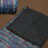 Urban Kid - Black Multi Color Sleepover Bag