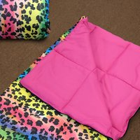Rainbow Leopard - Multi Color Sleepover Bag