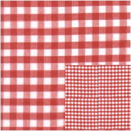 Red Mini Gingham Check Bedskirt In All Sizes From Twin To