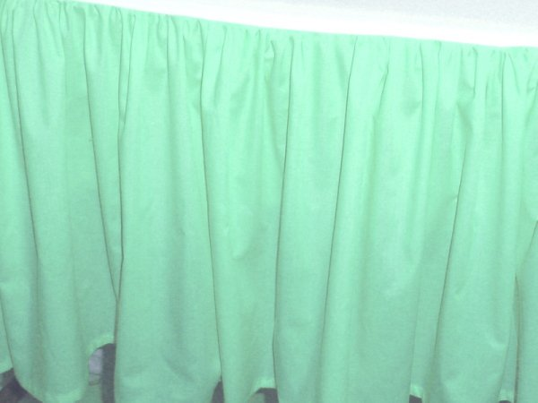 Solid Mint Seafoam Colored Bedskirt In All Sizes From