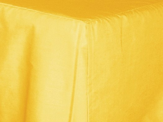 Golden Yellow Tailored Bedskirt For Cribs And Daybeds And