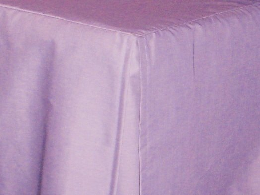Light Purple Lilac Tailored Bedskirt For Cribs And