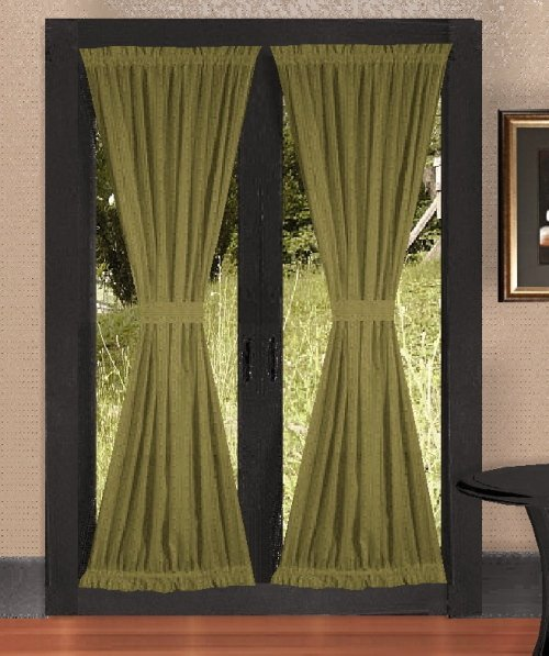 olive green kitchen curtains buy designer curtains solid olive green 3669