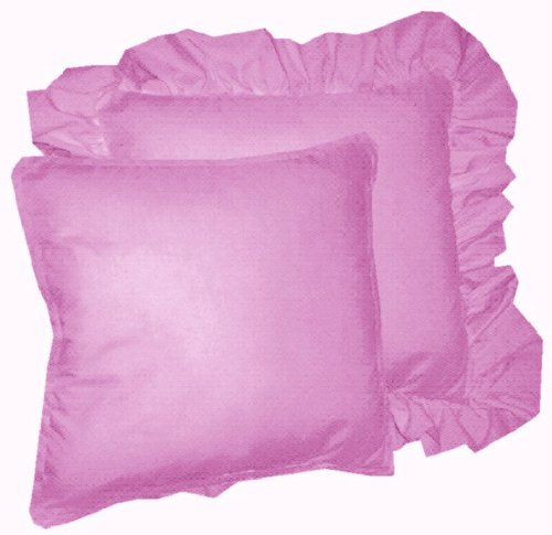 Solid Violet Purple Colored Accent Pillow With Removable