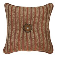 Pueblo - Gold 18 X 18 Throw Pillow