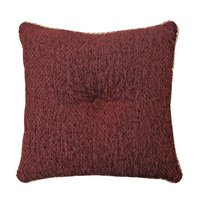 Corsica - Red 18 X 18 Throw Pillow