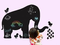 Elephant Chalkboard Decal