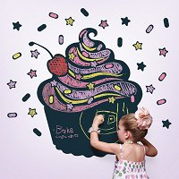 Cupcake Chalkboard Decal
