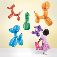 Dog Balloon Wall Stickers
