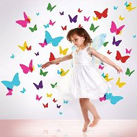 Flutterflies Wall Stickers