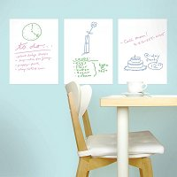 Mini Dry Erase Decals