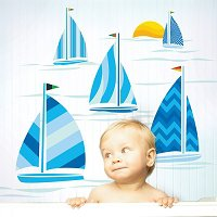 Sailboats Wall Decals