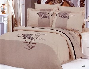 Golf, Full/Queen Bedding (Embroidered)