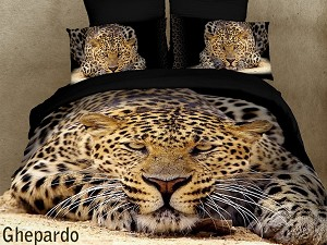 Ghepardo, 6-PC Duvet Cover Set King