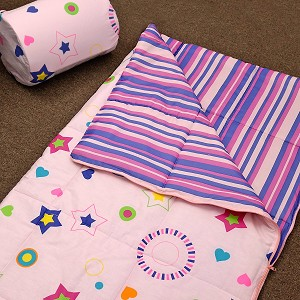 Star Dance - Pink Multi Color Sleepover Bag