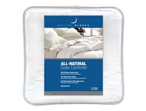 Restful Nights® All-Natural Down Comforter (Full/Queen)