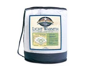 Pacific Coast®<br />Light Warmth Comforter<br /><small>Fluffy down comforter coziness for those who like less warmth (Twin)</small>