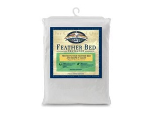 Pacific Coast&reg;<br />Feather Bed Protector<br /><small>Premium 230 thread count zippered protector (Full)</small>