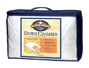 Pacific Coast®<br />Down Chamber™<br /><small>Enhanced support, all-down pillow (Standard)</small>