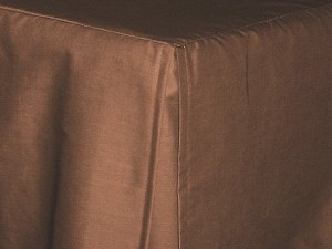 Copper Tailored Bedskirt (for cribs and daybeds and twin, twin xl, full, queen, olympic queen, king and cal king sizes with several skirt drop lengths)