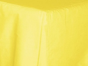 Lemon (Bright) Yellow Tailored Bedskirt (for cribs and daybeds and twin, twin xl, full, queen, olympic queen, king and cal king sizes with several skirt drop lengths)