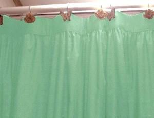 Thumbnailaspfileassets Images Sprhomefashions Curtains Solidcoloredcottonfabricshowercurtains Solidmintgreencoloredcottonfabricshowercurtainsmaxx