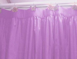 Violet Purple Shower Curtain