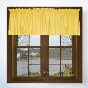 Stock Photo: Golden Yellow Valance