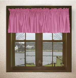 Hotpink-Fuchsia Window Valance