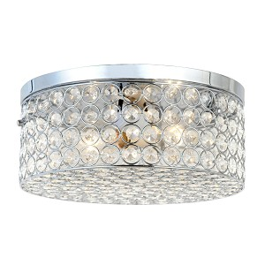 Ellipse Round Flush Mount Ceiling Light