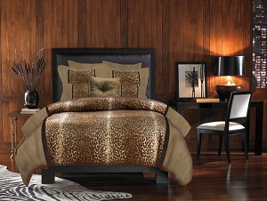 Kimba, 4-PC Queen Comforter Set (Leopard)